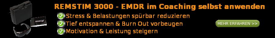 EMDR mit dem REMSTIM 3000 im Coaching selbst anwenden
